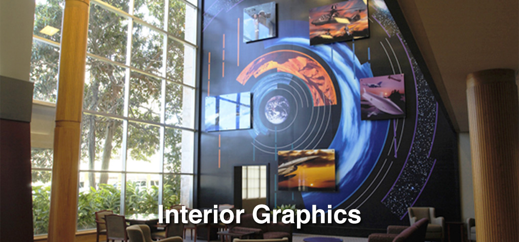 Interior Graphics, Wallcoverings, and Decor