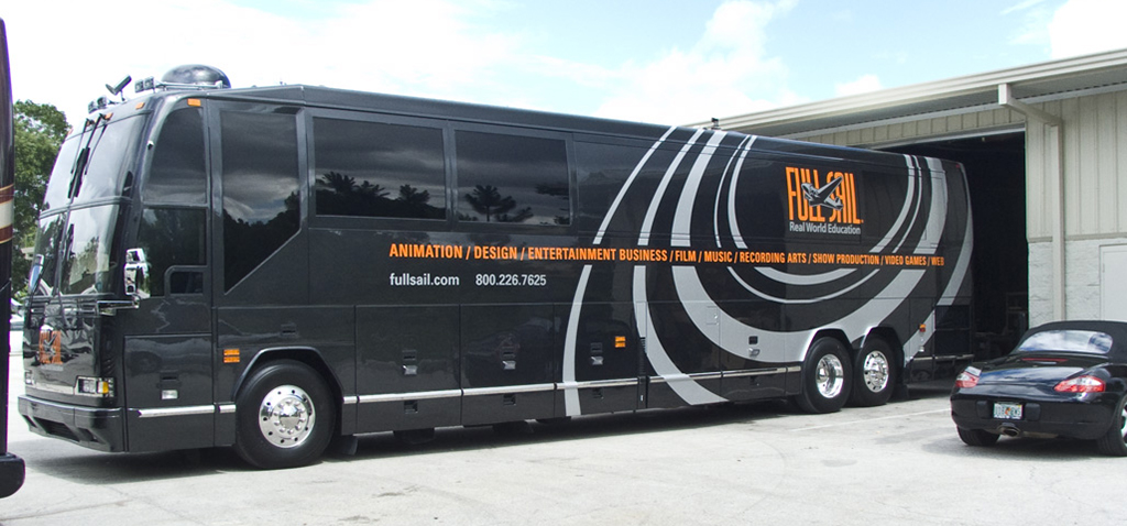 Bus Wrap Vehicle Graphic