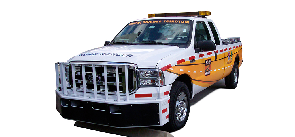 Truck Wrap Vehicle Graphic - Safety Patrol